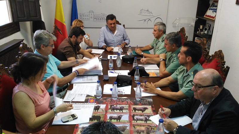 Hoy se ha celebrado la Junta Local de Seguridad de las Fiestas de San Juan 2017