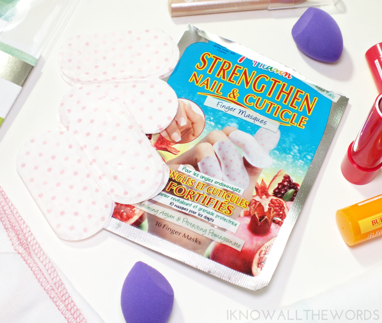 7th heaven strenghten nail & cuticle finger masques