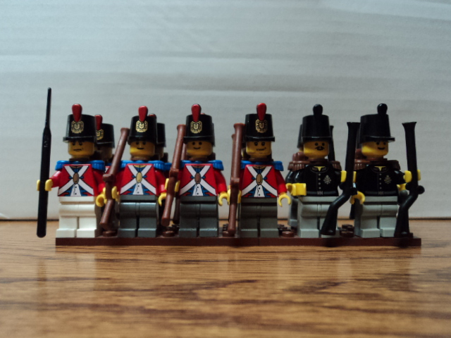 Lego Napoleonic British and French Armies - Pirate MOCs - Eurobricks