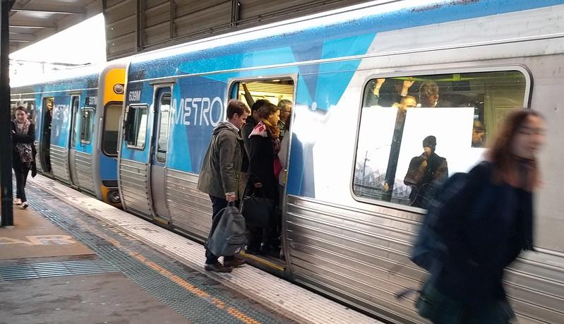 Crowded train, Richmond