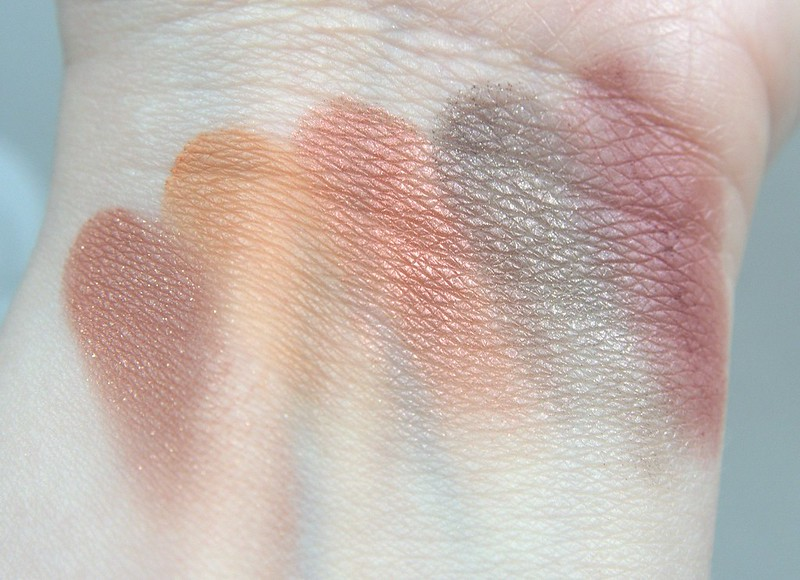NYX Rustic Antique swatches