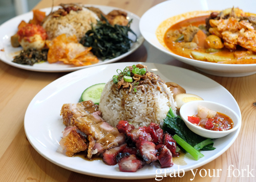 Medan dishes from North Sumatra at Medan Ciak in Surry Hills