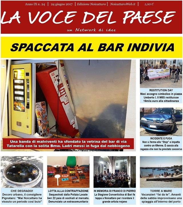 Noicattaro. Prima pagina n.24-2017 intero