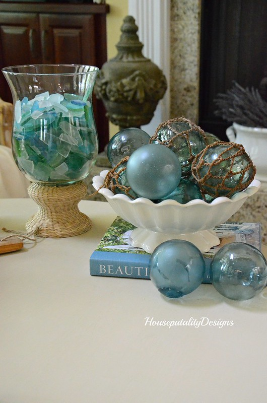 Sea glass-Japanese fishing floats-Ironstone-Housepitality Designs