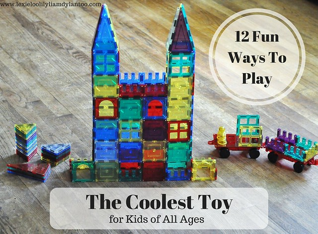 The Coolest Toy for Kids of All Ages - 12 Fun Ways To Play {Featuring Shape Mags}