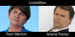 Paul Merton And Arlene Foster Jim Skea Flickr
