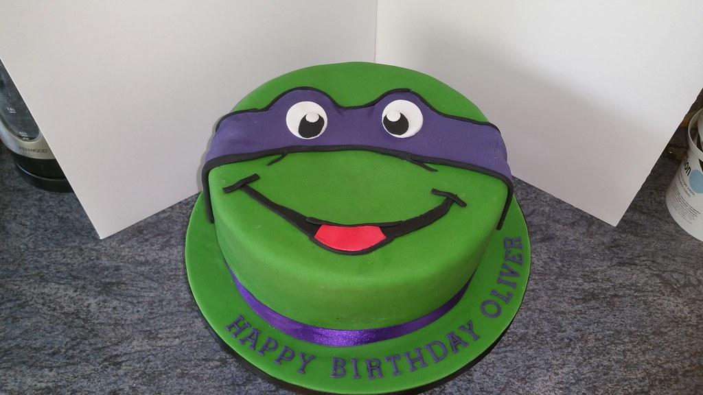Donatello Ninja Turtle Birthday Cake Platypus1974 Flickr