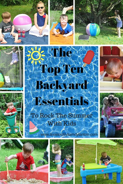 The Top Ten Backyard Essentials To Rock The Summer With Kids