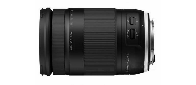 Tamron annoncera bientôt l'optique 18-400 mm f/3,5-6,3 pour les appareils APS-C