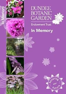 Enjoyable In Memory Dundee Botanic Garden Endowment Trust Inzonedesignstudio Interior Chair Design Inzonedesignstudiocom
