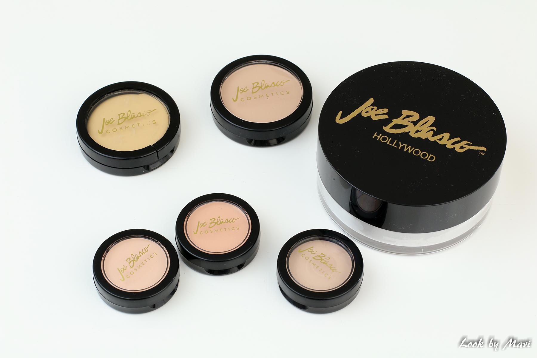 1 Joe Blasco meikit parhaat kokemuksia ultra base meikkivoide irtopuuteri