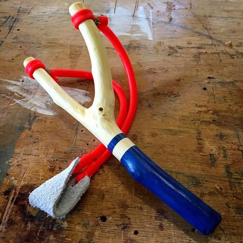 A slingshot is born.
