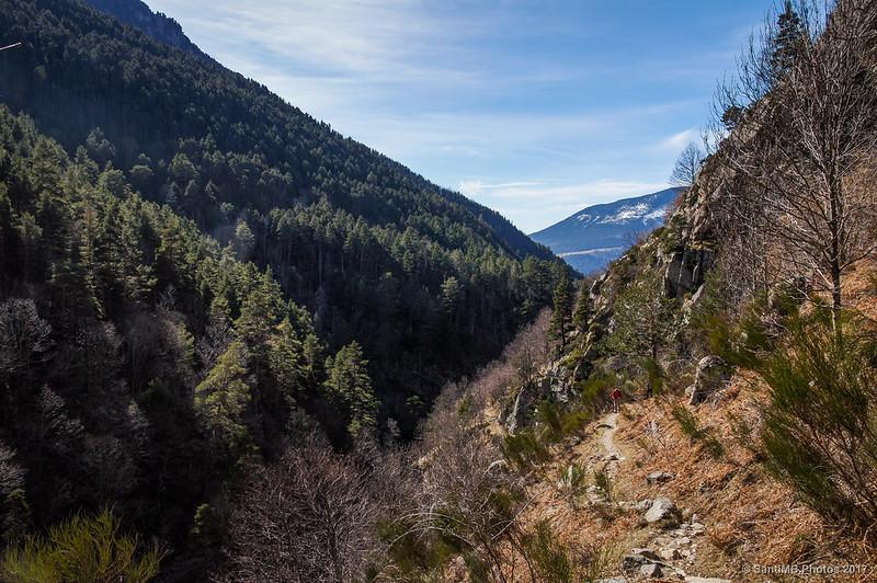 Vall de Ribes desde el Canal del Llop