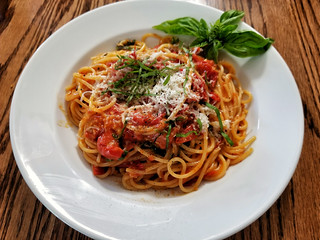 Sauteed Cherry Tomato Sauced Pasta | by jeffreyw
