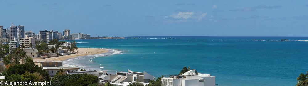 Vista Panoramica de la playa de Ocean Park