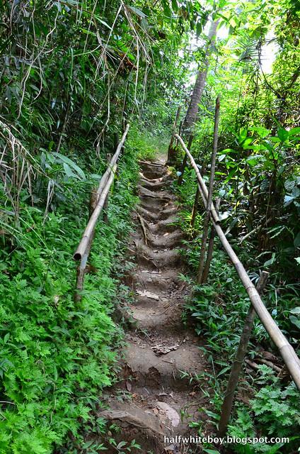 halfwhiteboy - talay falls, hidden falls, luisiana, laguna 09