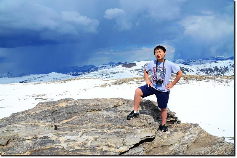 Toll Memorial Trail summit 5
