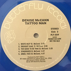 DENISE MCCANN:TATTOO MAN(LABEL SIDE-B)