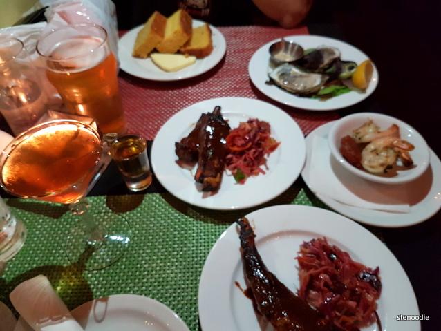 Club 1806 food