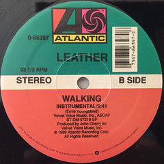 LEATHER:WALKING(LABEL SIDE-B)