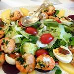 Scampi-Salat