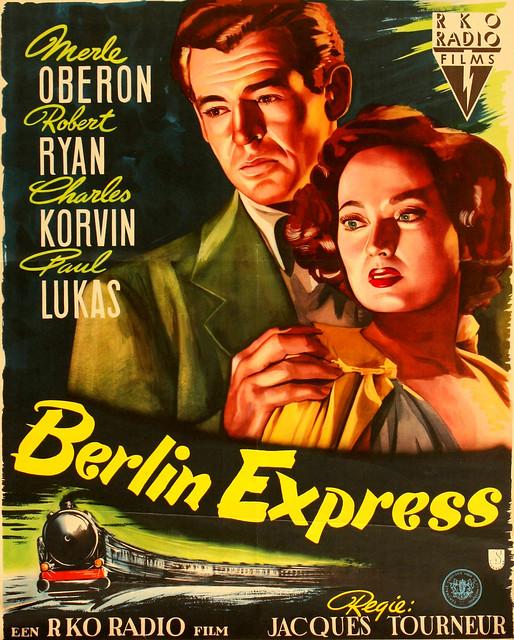 Berlin Express - Poster 1