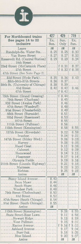 IC 1972 Electric Sched