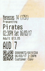 Pirates of the Caribbean: Dead Men Tell No Tales ticketstub