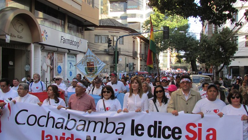 "Bolivia - ""Marcha por la vida"""