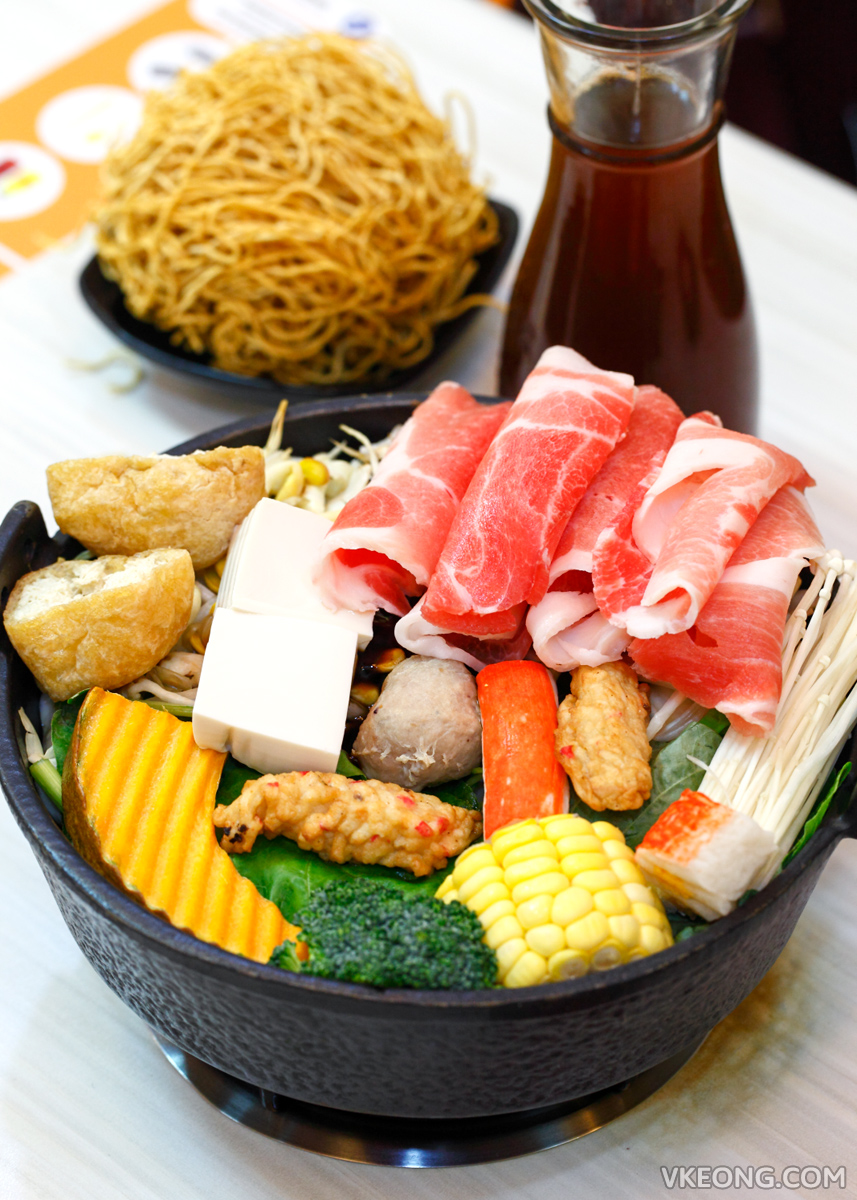Two Pesos Steamboat Sukiyaki Pork Slice Set