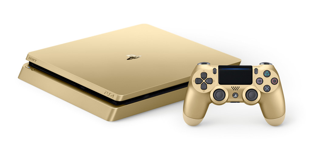 Gold 1TB PS4