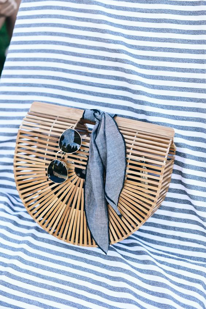 nautical outfits for summer 2017 street style outfits fashion trend accessories5