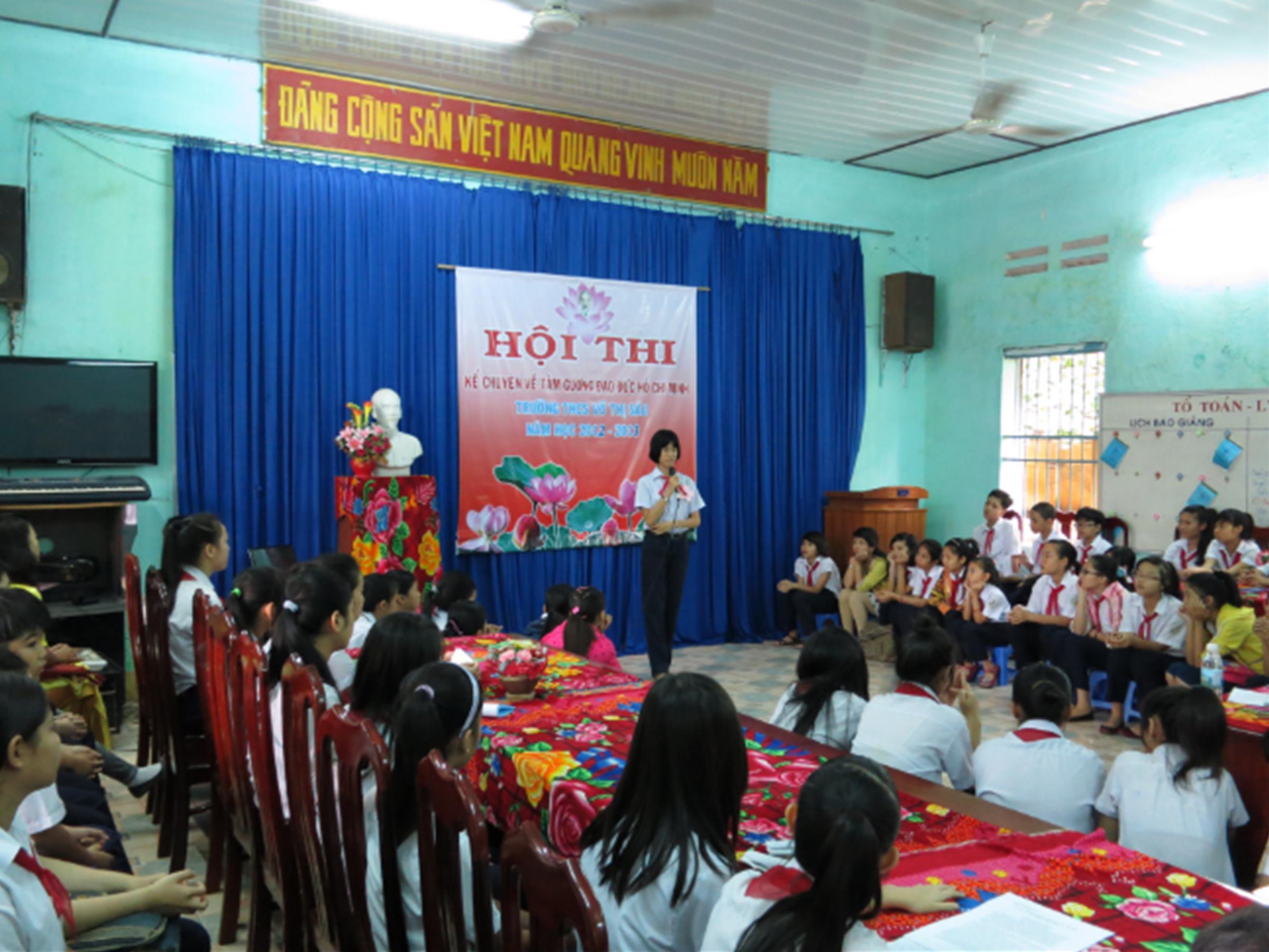 Hội Thi Kể Chuyện Về Tấm Gương Đạo Đức Hồ Chí Minh