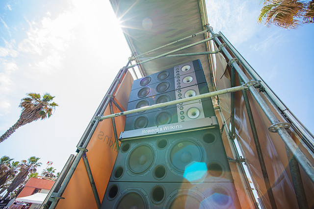 Speaker Stack (Photo Credit: Ania Shrimpton)