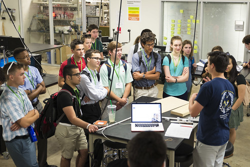 Session 1, ENGN Students Tour the Oshman Engineering Design Kitchen