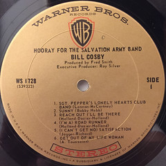 BILL COSBY:HOORAY FOR THE SALVATION ARMY BAND(LABEL SIDE-A)