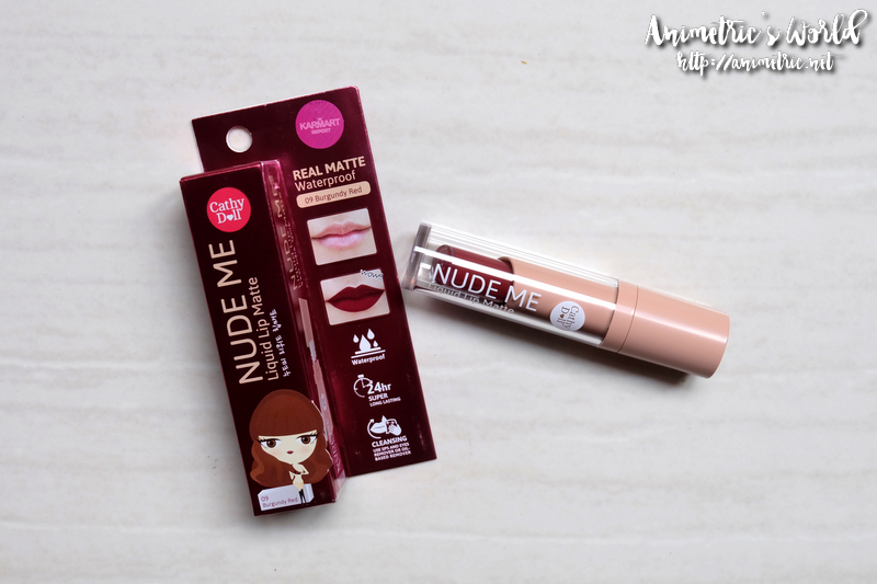 Cathy Doll Nude Me Liquid Lip Matte