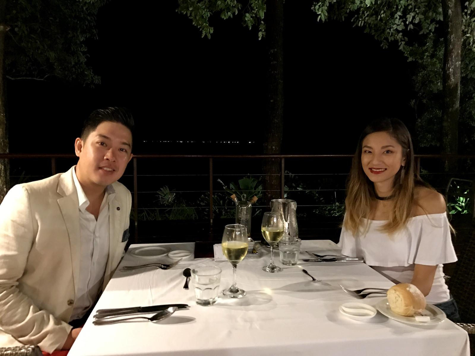 Romantic dinner at La Terrasse Specialty Restaurant