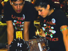 UIL Robotics Students