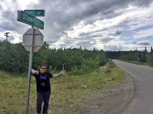 Sele en Stampede Road (Into the wild, Alaska)