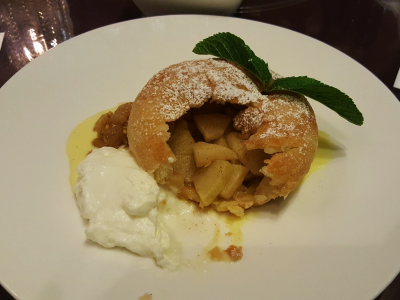 apple pie King Edward Hotel