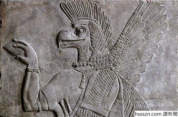 Anunnaki eagle helmet pine cone_597_392