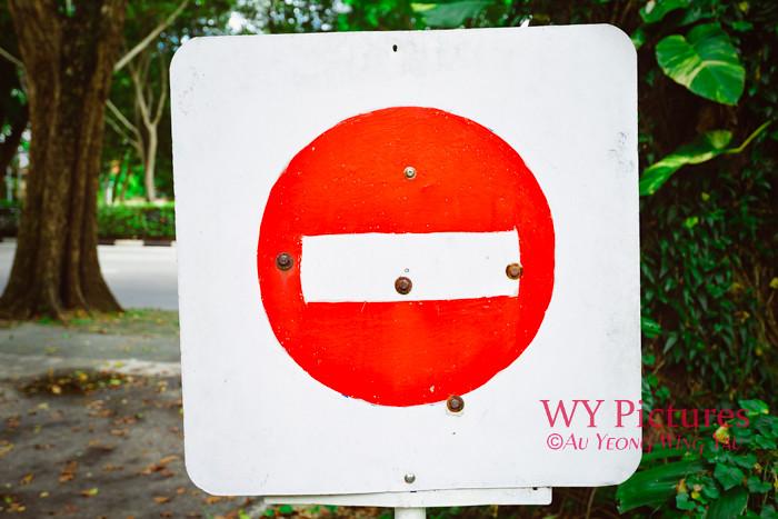 Stop Sign Close-Up