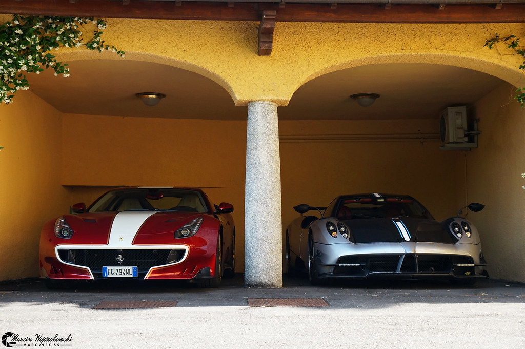 Ferrari F12 Tdf Amp Pagani Huayra Bc Both Cars Are Owned