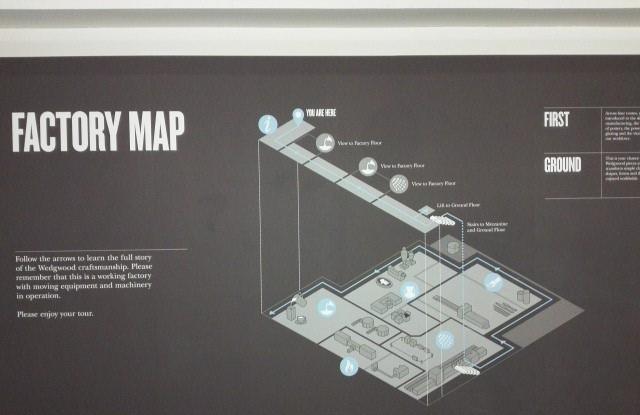 ウェッジウッドファクトリーマップ