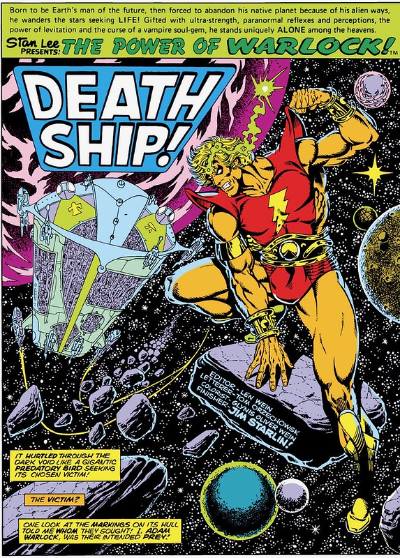 Strange Tales 179 splash Jim Starlin