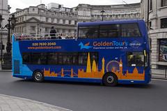 Volvo B5TL MCV eVoSeti - BD16 YEE - 127 - GoldenTours Grayline - London 2017 - Steven Gray - IMG_8750