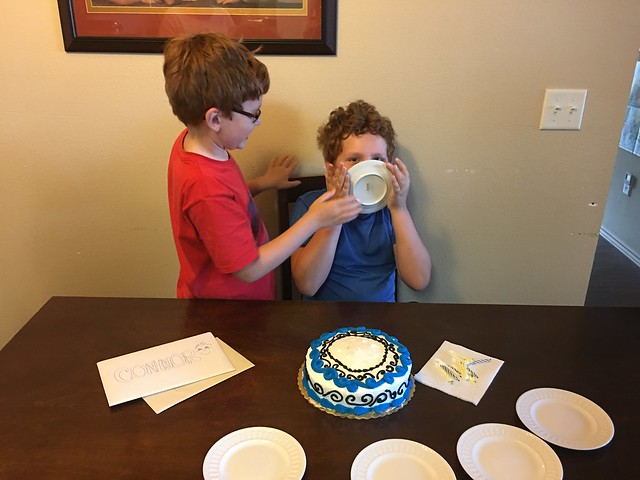 Connor's 10th Birthday