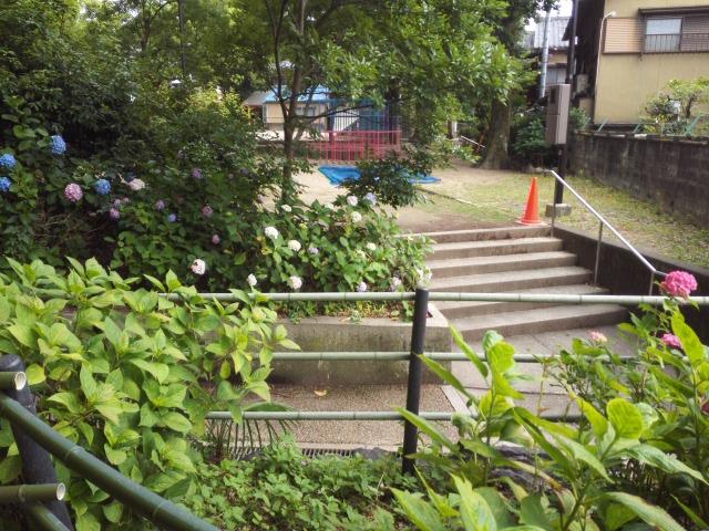 藤森神社の公園