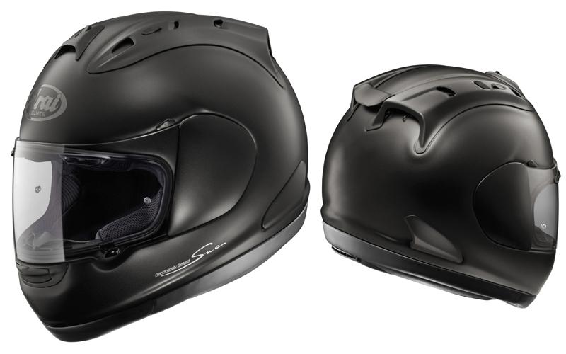 Arai RX-7 CORSAIR Helmet - Black Frost
